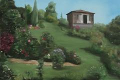 Сад пионов в Протасово