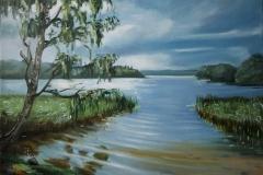 «У озера» 50х70см. 2010г.